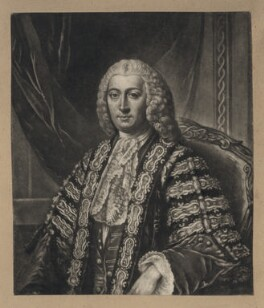Henry Bilson Legge, by Richard Houston, after  William Hoare - NPG D5049