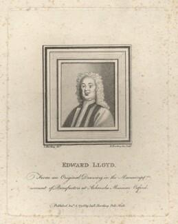 Edward Lloyd, by Edward Harding, published by  E. & S. Harding, after  Silvester (Sylvester) Harding - NPG D5095