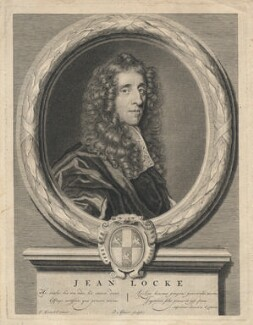 John Locke, by Pieter Stevens van Gunst, after  John Greenhill - NPG D5096