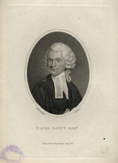 Capell Lofft, by William Ridley, published by  Vernor & Hood, after  Holloway - NPG D5102