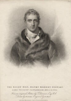 Robert Stewart, 2nd Marquess of Londonderry (Lord Castlereagh), by Henry Meyer, after  Sir Thomas Lawrence, published 1814 - NPG D5103 - © National Portrait Gallery, London