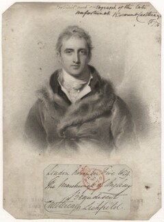 Robert Stewart, 2nd Marquess of Londonderry (Lord Castlereagh), by Henry Meyer, after  Sir Thomas Lawrence - NPG D5104