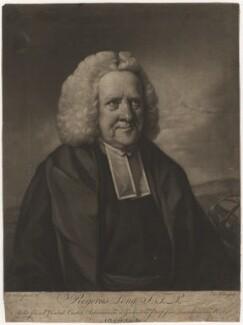 Roger Long, by Edward Fisher, after  Benjamin Wilson - NPG D5106