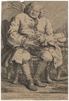 Simon Fraser, 11th Lord Lovat, by William Hogarth - NPG D5111
