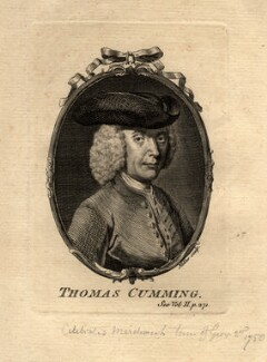 Thomas Cumming, by John Sebastian Miller (formerly Johann Sebastian Müller), after  Unknown artist - NPG D5112