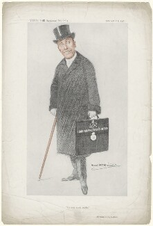 Charles Hallam Elton Brookfield, by Alexander ('Alick') Penrose Forbes Ritchie - NPG D5113