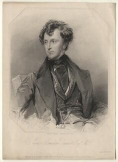 Sir James Emerson Tennent, 1st Bt, by Richard Austin Artlett, after  George Richmond, published 1836 - NPG D5115 - © National Portrait Gallery, London