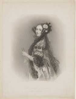 Ada Lovelace, by William Henry Mote, after  Alfred Edward Chalon - NPG D5123
