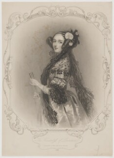 Ada Lovelace, by William Henry Mote, after  Alfred Edward Chalon - NPG D5124