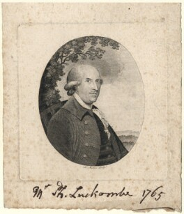 Philip Luckombe, by Henry Mutlow, after  Unknown artist - NPG D5136