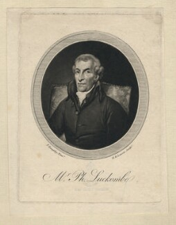 Philip Luckombe, by Robert Laurie, after  Thomas Kearsley - NPG D5137
