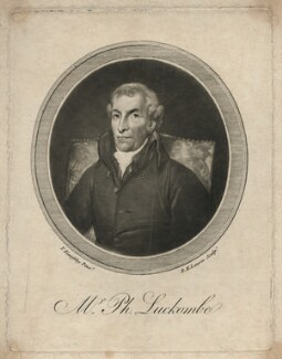 Philip Luckombe, by Robert Laurie, after  Thomas Kearsley - NPG D5138