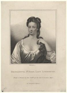 Henrietta Knight (née St John), Lady Luxborough, by E. Bocquet, published by  John Scott - NPG D5140