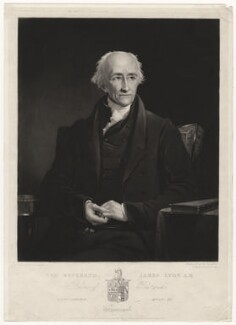 James Lyon, by Samuel William Reynolds, published by  Agnew & Zanetti, after  James Lonsdale - NPG D5147