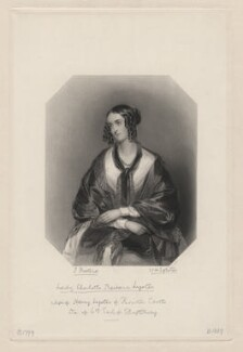 Lady Charlotte Barbara Lyster, by William Henry Egleton, after  John Bostock - NPG D5148