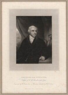 Samuel Lysons, by William Bond, after  Sir William John Newton - NPG D5149