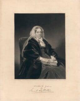 Sarah Lyttelton (née Spencer), Lady Lyttelton, by George Salisbury Shury, after  Henry Weigall - NPG D5152