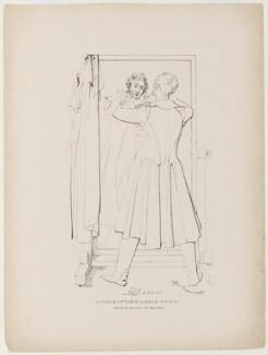 Edward George Earle Lytton Bulwer-Lytton, 1st Baron Lytton, by Daniel Maclise, published by  James Fraser - NPG D5154