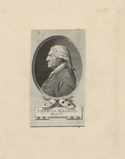 Charles Macklin, by John Corner, after  John Charles Lochée - NPG D5175