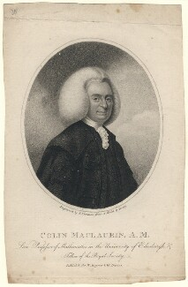 Colin Maclaurin, by Samuel Freeman, after  Percey - NPG D5178