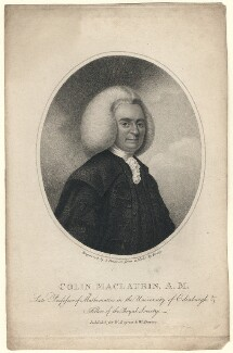 Colin Maclaurin, by Samuel Freeman, after  Percey - NPG D5179