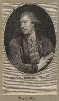 James Macpherson, by John Keyse Sherwin, after  Sir Joshua Reynolds - NPG D5184