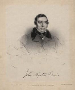 John Ayrton Paris, by William Drummond, after  Eden Upton Eddis - NPG D5192