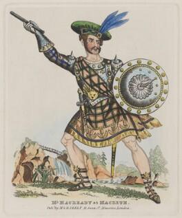 William Charles Macready, published by Martin Skelt, published by  Benjamin Skelt - NPG D5198