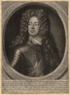 John Churchill, 1st Duke of Marlborough, by Gerard Valck, after  Sir Godfrey Kneller, Bt - NPG D5212