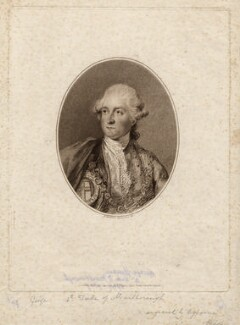 George Spencer, 4th Duke of Marlborough, by John Ogborne, published by  John Thane, after  Francesco Bartolozzi - NPG D5214