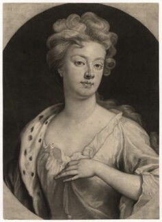 Sarah Churchill (née Jenyns (Jennings)), Duchess of Marlborough, by John Smith, after  Sir Godfrey Kneller, Bt - NPG D5216