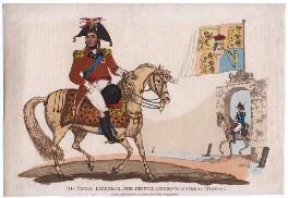 King George IV when Prince Regent, after Unknown artist - NPG D5217