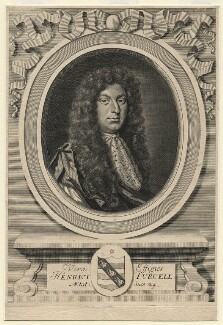 Henry Purcell, by Robert White, circa 1683 - NPG D5218 - © National Portrait Gallery, London