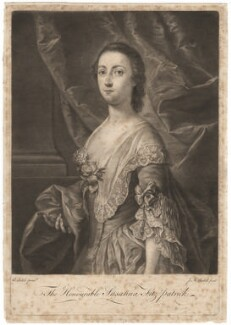 Susanna Fitzpatrick (née Usher), by James Macardell, after  Andrea Soldi, 1750s-1760s - NPG D5219 - © National Portrait Gallery, London