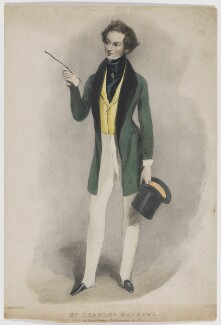 Charles James Mathews as George Rattleton in 'The Humpbacked Lover', by Edward Morton, after  Alfred Edward Chalon - NPG D5226