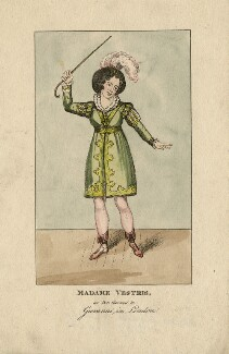 Madame Vestris as Don Giovanni, by (Isaac) Robert Cruikshank - NPG D5230