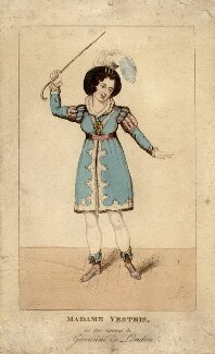 Madame Vestris as Don Giovanni, by Unknown artist - NPG D5233