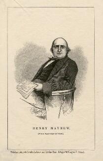 Henry Mayhew, after a daguerreotype by Beard - NPG D5237