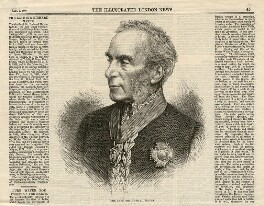 Sir Richard Mayne, published by Illustrated London News, after a photograph by  John Watkins - NPG D5239