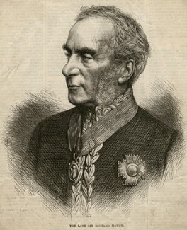 Sir Richard Mayne, published by Illustrated London News, after a photograph by  John Watkins - NPG D5240