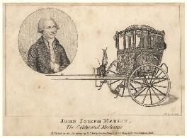 John Joseph Merlin, by George Perfect Harding - NPG D5252