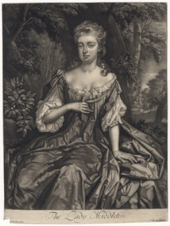 Catherine (née Brudenell), Countess of Middleton, published by John Savage, after  Sir Godfrey Kneller, Bt - NPG D5256