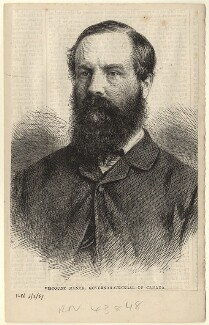 Charles Stanley Monck, 4th Viscount Monck, published by Illustrated London News, after an intermediary drawing by  Thomas Dewell Scott - NPG D5268