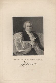 James Henry Monk, by George Parker, published by  Fisher Son & Co, after  J. Moore - NPG D5270