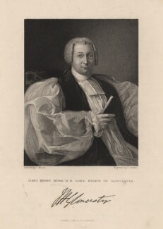James Henry Monk, by George Parker, published by  Fisher Son & Co, after  J. Moore - NPG D5271