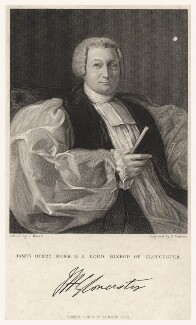 James Henry Monk, by George Parker, published by  Fisher Son & Co, after  J. Moore - NPG D5272