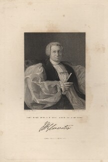 James Henry Monk, by George Parker, published by  Fisher Son & Co, after  J. Moore - NPG D5273