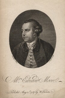 Edward Moore, by James Neagle, published by  William Lowndes, after  Thomas Worlidge - NPG D5285