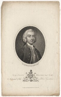 Sir John Moore, by William Ridley, published by  Joyce Gold - NPG D5289