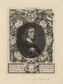 John Mordaunt, 1st Viscount Mordaunt of Avalon, after William Faithorne, after  Adriaen Hanneman - NPG D5294